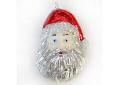 Іграшка новорічна Дід Мороз 8,5см  в упак 5шт