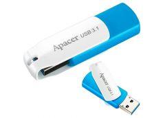 Флешка APACER AH357  16GB USB 3.1 Blue/White AP16GAH357U-1