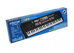 Синтезатор 61клав мікроф USB MP 3 запис Demo від мережі 63*21*7см BF-630A1 (24)