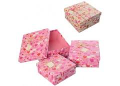 Коробка подарункова квадратна, 3 в 1, 3шт. в наборі,  Вел. (маг=55) X15545-6