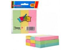Стікер закладка 3*3 см. клейка кольорова 100 лист. B2-42