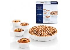 Набір форм для запікання Luminarc Smart Cuisine овальних 28, 11см*4 шт круглі. P...