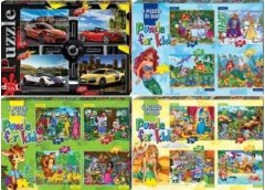 Пазли Puzzle 54/20 елем 4в 1 (12) Danko toys