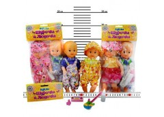 Лялька Шурочка і Людочка з аксесуарами в кул 24см 99 BV (144)