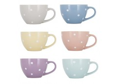 Чашка 450 мл. Limited Edition DOTS PASTEL 181066 ЮГ-К (36)
