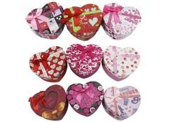 Коробка подарункова, серце 11*9*5см. 460654/460678 Leader  (1)