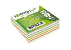 Папір д/нотат Fresh Up 80х80х40 арк. клеєний мікс FR-2412/100414