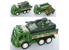 Трейлер інерц. військова техніка, 3 вид. в кул. 20*10*7см. AK58-B1-3-4 (192)