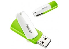 Флешка Apacer AH335 64GB Green/White AP64GAH335G-1
