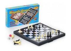 Шахмати в кор 3в1 21*11*3см  3831 (96)