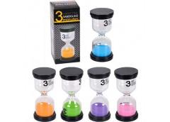 Часи пісочні декоративні стікляні 3 мин Small 9.5*4.5см 97483