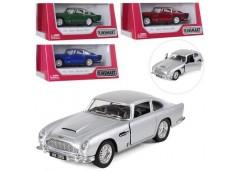 Машина інерц. метал. Aston Martin  13см. 1:38, рез. кол. откр. двері, 4 кол  KT5...