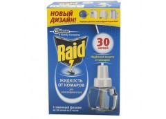Жидкость від комарів і мух Raid 30 ночей 22мл 643866 ФОРВ (24)