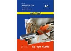 Плівка для ламінування  Buromax A5, 80мкр.  154х216мм  100л.  BM7753 ()&&