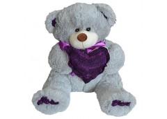Ведмедик  травка   з сердечком/бантом