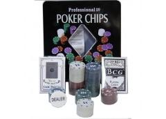 Покерний набір на 100 фішок 62002
