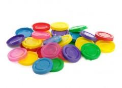 Кришка пластмасова х/б кольорова Юніпласт  0035 (200)