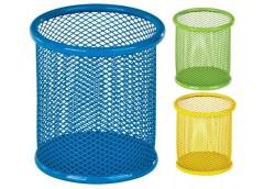 Підст. для ручок кругла метал. синя, жовта, салатова 8*8*10см ZiBi  ZB 3100-02/0...