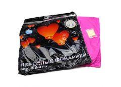Літаючий фонарик желанія серце 85*85см H-6 /07092 (400)