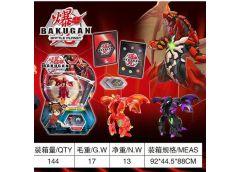 Бакуган в коробці з ігровим полем фігурка + ігрові карти 989-S16 (144)