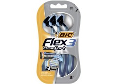 Станок  д/брит однор BIC 3  Flex комфорт 3шт (20)