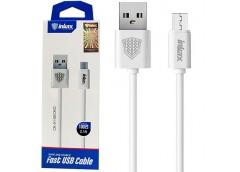 Кабель зарядний INKAX CK-51 USB - micro USB V8