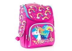 Рюкзак каркасний YES H-11 Unicorn blue 34*26*14см 555196