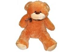 Ведмедик  травка з шарфом великий