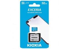 Карта пам'яті KIOXIA (TOSHIBA) Exceria microSDHC 32Gb Class 10 UHS I + ad LMEX1L...