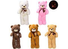 М'яка іграшка, медведик, світиться в темряві, 5 кол.  60см  BL0905  (20)