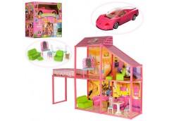 Будинок в кор. 2пов. 4 кімнати, мебель, машинка 56*50*25см  6981 (3)