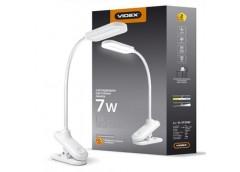Лампа настольна Videx LED 7Вт VL-TF09W, 3000-5500K  220V