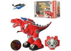 Динозавр  р/у, TF, трансформер (робот) 42см, акум звук, світ. прог USB в кор,  4...