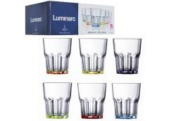 Набір стаканів Luminarc Bright Colors 270мл 6шт в наборі J8933/1