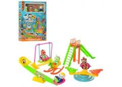Набір ігровий в кор OC дитяч площадка 4 фігурки 26*35*7см ZY-708 (48)