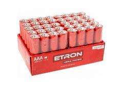 Бат. R3 сп. Etron Mega Power Shrink Alkaline AAA-LR03-40S (4/10/240)