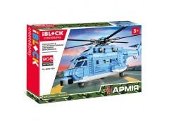 Констp IBLOCK, вертоліт, 908 дет. 56*8*37см.  PL-920-180  (12/24)