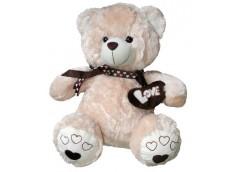 Ведмедик травка з шарфом