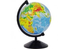 Глобус Землі 160мм. фіз.  ГФ 16 (30)