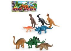 Динозаври в кул. 8шт 20*34*3см 283 (72)
