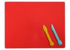 Доска для пластиліну ширша 25*19см+2стека Козлов (130)