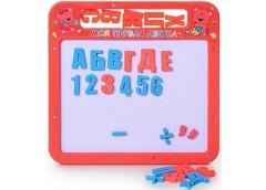 Доска магнітна азбука мала рос укр алфавіт25*24см  0185UK (108)