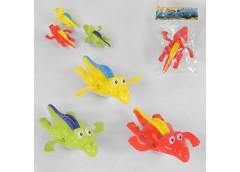 Водоплаваючі іграшки(крокодил) 1шт в пакеті 3 види 556/88496 (720)