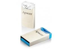 Флешка APACER AH111 16GB Blue/Crystal  AP16GAH111CR-1