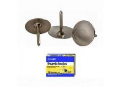 Кнопки ECONOMIX метал нікел за 100шт. E41101 (10/500)