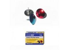 Кнопки ECONOMIX метал. кол. за 100шт. E41103 (10/500)