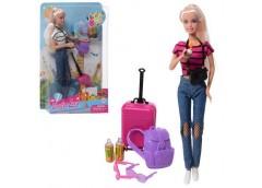 Лялька DEFA в кор, кукла 30см, аксесуари, 21*32*6см 8389-BF (48)