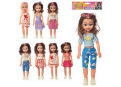 Лялька 40см, муз,  мікс вид, на бат(таб) в кульке 18*48*7см 8167-1-2/3-3-3 (60)