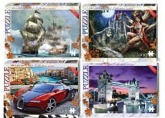 Пазли Puzzle 1000 елем (10) Danko toys