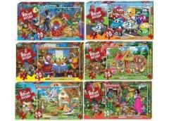 Пазли Puzzle 20 ел мякі 23 *16,5 см.(16) Danko toys